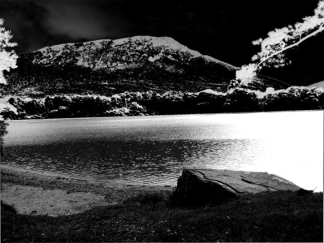 Black Mountainside